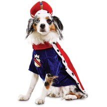 "Bootique XL Majestic King Dog Pet Costume Halloween X-Large New 19-22""  - ₹1,285.05 INR"