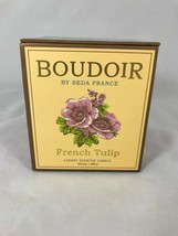 French Tulip Boudoir Boxed Candle - $38.00
