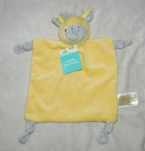 DANDEE DAN DEE YELLOW GRAY GIRAFFE SECURITY BLANKET LOVEY KNOT RATTLE TO... - $44.54