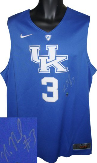 Primary image for Nerlens Noel signed Kentucky Wildcats Blue Nike Hyper Elite Authentic Jersey XL
