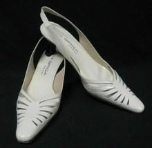 Via Spiga Sling Back Shoes Kitten Heels Size 6 - $23.95