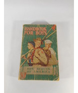 Boy Scouts Of America Handbook for Boys 1st Edition 1940 Manual BSA Scou... - $26.68