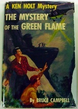 Ken Holt no.10 Mystery of the Green Flame 1st Edition hcdj no front dj flap - $18.00