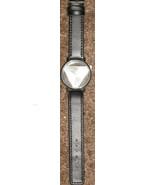Stylish Leather Band Stainless Steel Sport Analog Quartz Unisex Wrist Wa... - $14.99