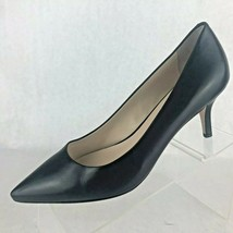 Cole Haan Grand OS Womens Black Leather Pump Heel Pointy Toe Shoes Size ... - £34.01 GBP