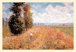 Paysage Pres de Giverny by Claude Monet - Art Print - $19.99+