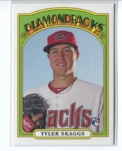 TYLER SKAGGS RC 2013 Topps Archives #19 Arizona Diamondbacks Baseball Card - $1.59