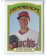 TYLER SKAGGS RC 2013 Topps Archives #19 Arizona Diamondbacks Baseball Card - $1.59