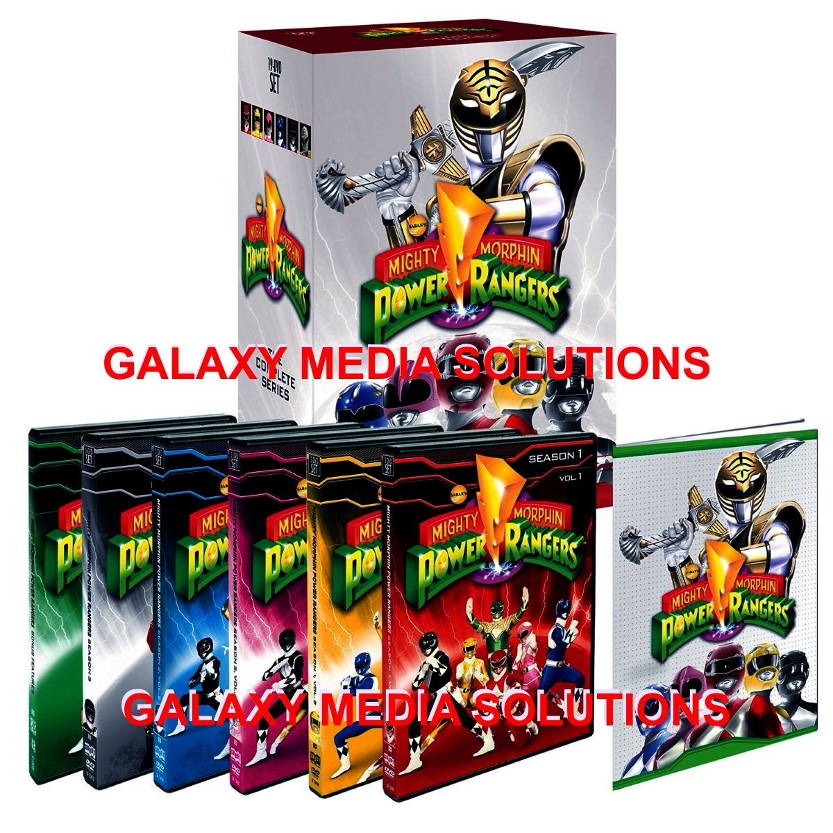 Mighty morphin power rangers the complete series 3