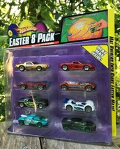 "NIP Mattel Hot wheels 8 Jaguar Cars + Maze Mat 15"" x 18"" Easter Pack 200... - $19.58"
