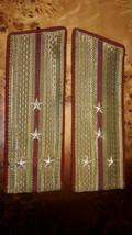 Ceremonial shoulder straps of the captain of armored troops of the Soviet Army - $20.00