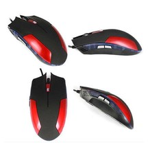 Wired USB Mouse LED Optical Game Mouse Gamer Mice For Laptop Computer AG1