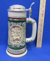 Avon Beer Stein Lidded At Point English Setter The Strike Rainbow Trout ... - $14.84