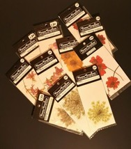 Intermountain Giftmakers Flower Creations  Real Pressed Wild Flowers Lot... - $10.39