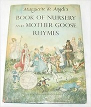 Marguerite De Angeli's Book of Nursery & Mother Goose Rhymes - $22.50