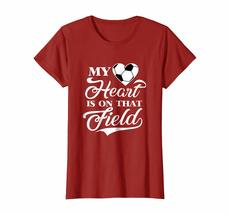 Brother Shirts - My Heart Is On That Field Soccer T Shirt Wowen image 2