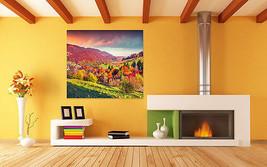 3D Bunte faszinierende Berg 2 Fototapeten Wandbild BildTapete Familie AJSTORE DE - $36.97+