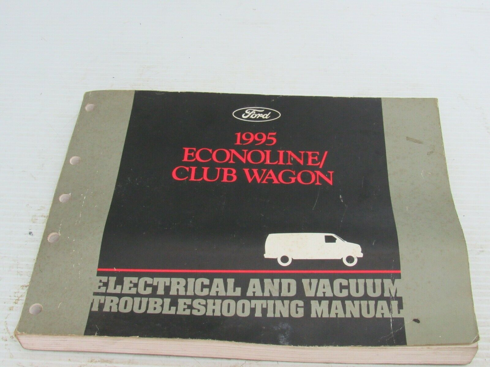 Primary image for 1995 Ford Econoline Club Wagon Sevice Shop Manual