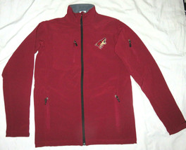 Arizona Coyotes Men's Maroon Red Soft Shell Jacket Small Medium NEW - $30.40