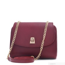 Carbotti Italian Leather Chain Clutch  Bag/Purse  Classic Timeless Fashion - $206.91