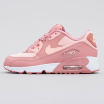 NIKE AIR MAX 90 SE MESH YOUTH SIZE 2.5 & 3.5 PINK, GUAVA ICE, NEW SUPER ... - $119.44