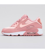NIKE AIR MAX 90 SE MESH YOUTH SIZE 2.5 & 3.5 PINK, GUAVA ICE, NEW SUPER ... - $119.99