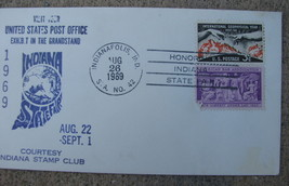 Commemorative cover USPS Exhibit Indiana State Fair Aug 22 - Sept 1 1989... - $9.98