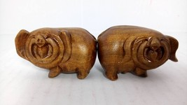 Vietnamese HandCrafted Happy Pigs - Illicium Verum Wood Star Anise - $23.00
