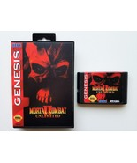 Mortal Kombat II Unlimited Sega Genesis (Playable Bosses and Secret fighter) USA - $14.99 - $24.99