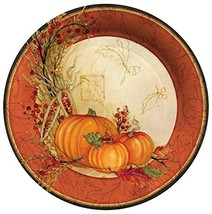 C.R. Gibson 8 Count Autumn Array Paper Dinner Plates - $33.77