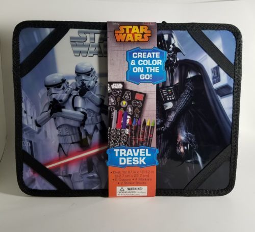 NEW Star Wars Lap Activity Travel Desk by Innovative Designs perfect for ages 4+