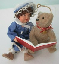 Beverly and Teddy Special Edition Hallmark Keepsake Ornament Dated 1995 IOB - $20.00