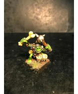 WARHAMMER OOP 1994 METAL HQ PAINTED MODEL ORC DRUMMER 075235/2 BY GW  - $45.68