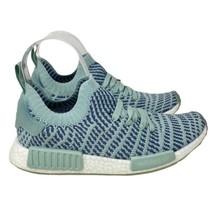Adidas Originals Women's 9.5 NMD R1 STLT PK W Ice Mint CQ2031 Boost NEW - $87.29
