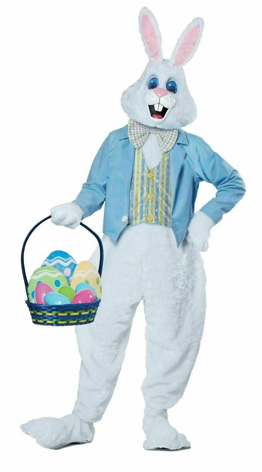 California Costumes Deluxe Easter Bunny Rabbit Adult Halloween Costume 01567