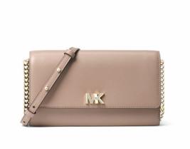 Michael Kors Mott XL Wallet on a Chain Crossbody Clutch Bag Truffle Msrp... - $89.00