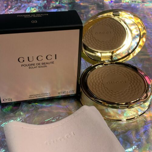 NEW IN BOX Gucci Eclat Soleil Bronzing Powder Medium 03 Sold Out