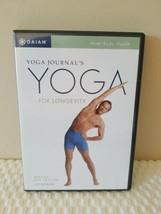 Giaim Yoga Journal's Yoga For Longevity DVD With Rod Stryker Mind Body H... - $8.00