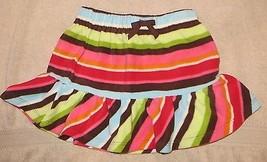 EUC Gymboree Winter Cheer Fleece Striped Skirt Size 4 - $6.79