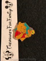 Disney Pin Winnie the Pooh Hallmark Blue Diamond Flowers FREE SHIP - $10.99