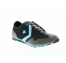 Women's Converse Revival Ox Lifestyle Sneakers Gray Black Teal 506205 Si... - $38.36