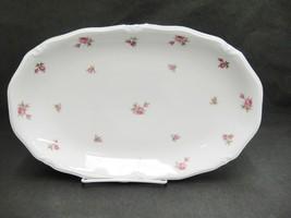 "Winterling Rosebud 12.5"" Oval Serving Platter Bavaria Western Germany Rare - $74.24"