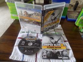 Sniper Elite III -- Ultimate Edition CIB great shape PS3 Playstation 3 - $19.95