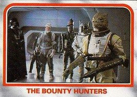 1980 Topps Star Wars Empire Strikes Back Red Cards THE BOUNTY HUNTERS #74 - $3.91