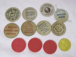 Lot 11 Vintage Wooden + Nickels Alpenrose Farrell's Breslers Jerry's Cam... - $26.24