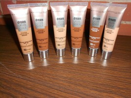 Maybelline Dream Urban Cover Full Coverage Protective Make-up 6 Pc Mixed... - $14.52