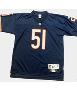 Dick Butkus 1966 Chicago Bears Home Reebok Throwback Jersey Men Size L - $54.45