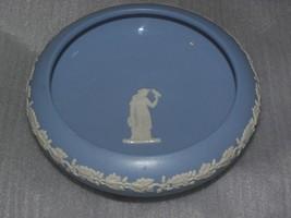 Vintage Dudson Hanley Blue White Footed Jasperware Flower Bowl - $14.84