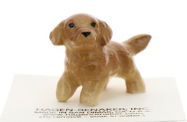 Hagen-Renaker Miniature Ceramic Dog Figurine Golden Retriever Pup