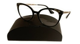 Prada Women's Black Cats Eye Glasses with case VPR 12U 1AB-1O1 53mm - $185.99